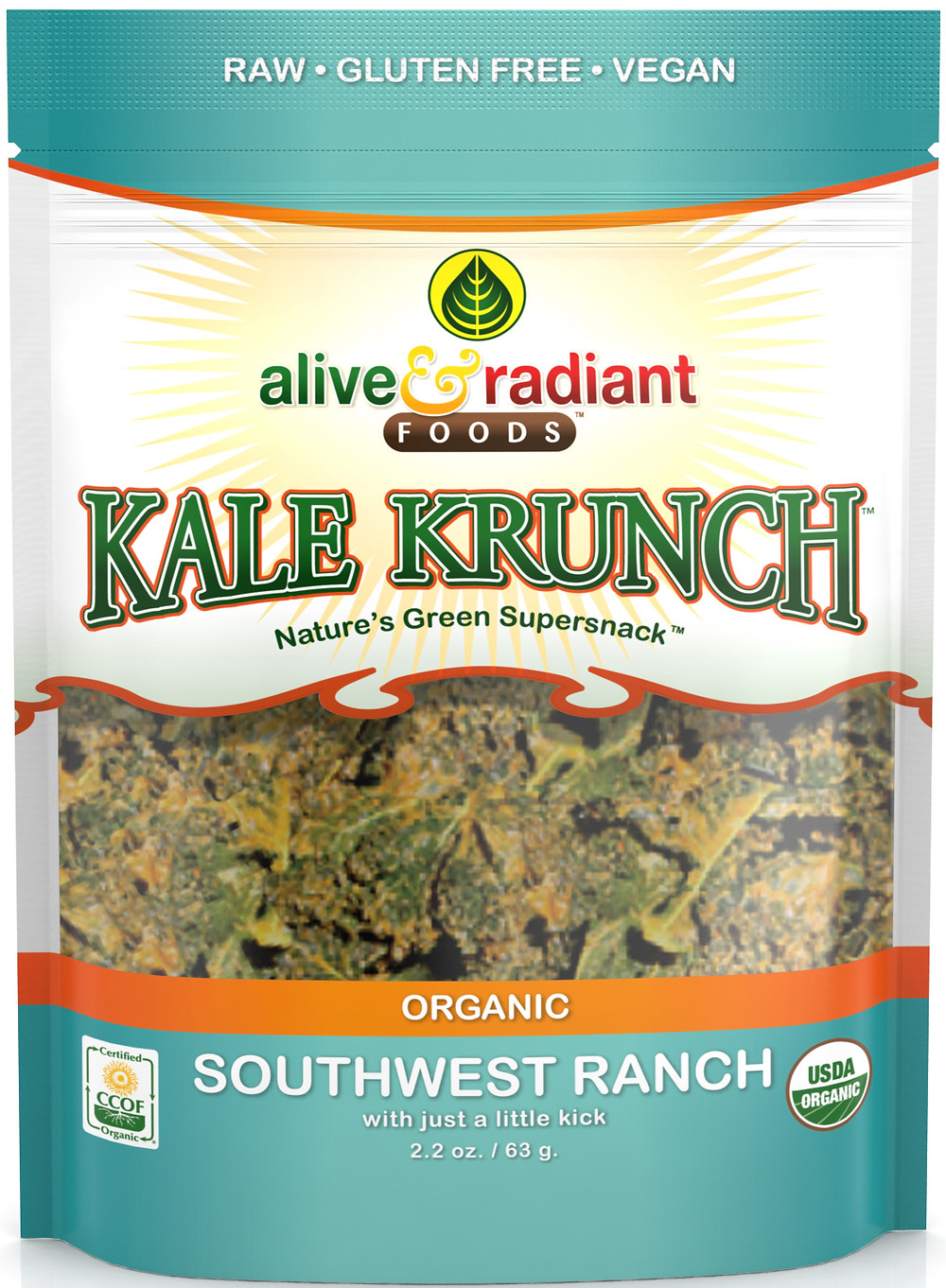 Organic Southwest Ranch Kale Krunch