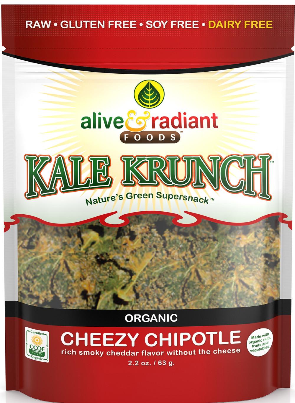 Cheezy Chipoltle Kale Krunch