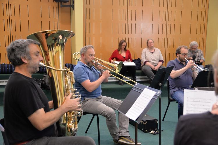 A Tasmanian Requiem rehearsal GapInTheFence.jpg