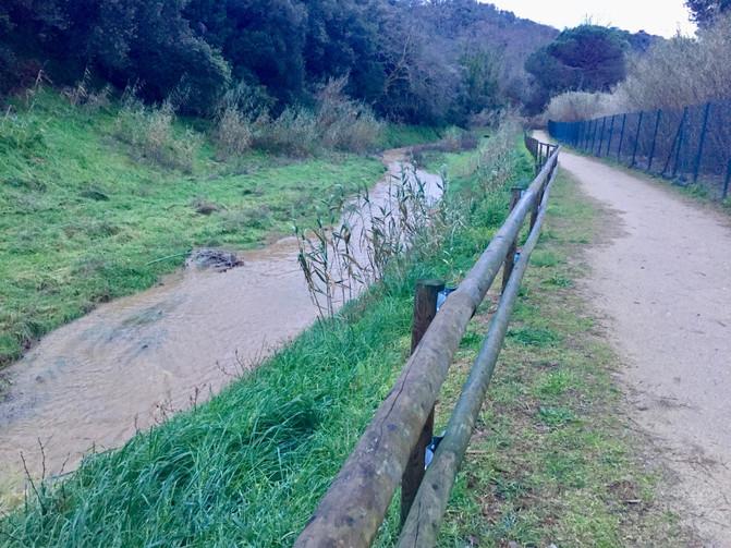 La Via Blava de La Vallalta es presenta públicament