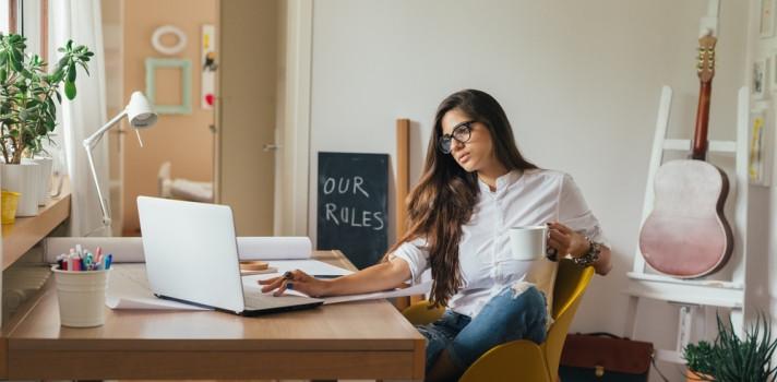 Tips para organizar el tiempo con el trabajo en casa. Cuidarnos esta en manos de todos#QuédateEnCasa
