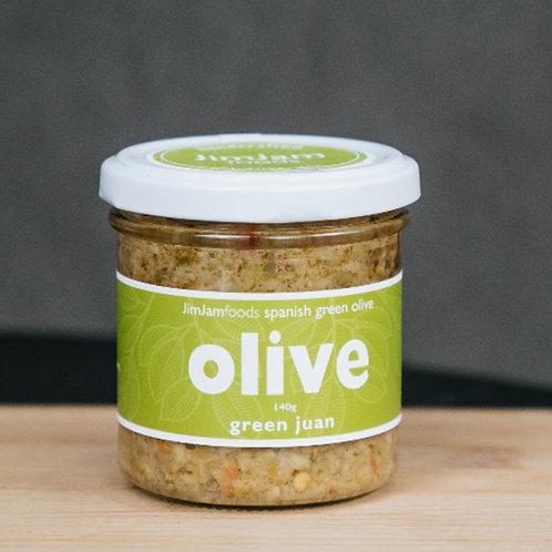 Jim Jam Green Olive Tapenade