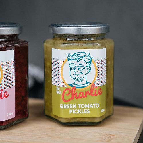I'm Not Charlie Green Tomato Pickles