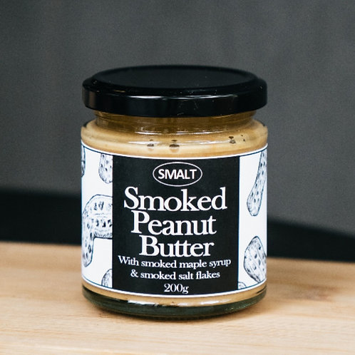Smalt Cold Smoked Peanut Butter