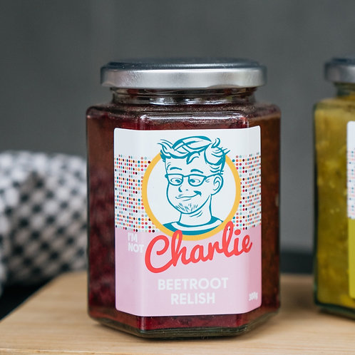 I'm Not Charlie Beetroot Relish