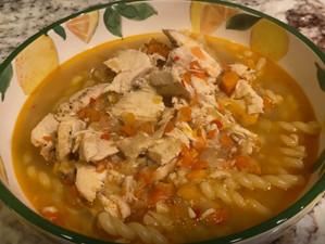Jetsetter Easy Chicken Soup