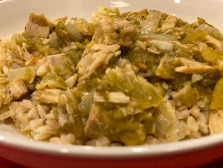 Easiest Chile Verde Ever!