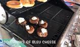 Teriyaki Bleu Burgers