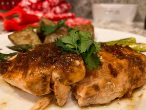 Super Simple Thai Salmon in Foil