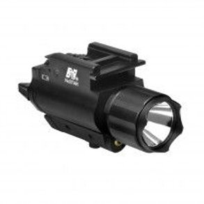 TACTICAL RED LASER SIGHT &  3W 200 LUMENS LED FLASHLIGHT