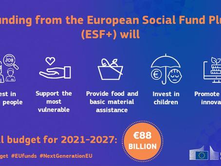 Accord conclu sur le fonds social européen + pour 2021 2027