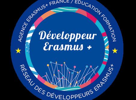 CAPP-Europe, adhérent au réseau des développeurs Erasmus+