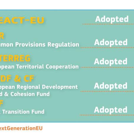 Entrée en vigueur du paquet législatif 2021-2027 pour la politique régionale de l'Union européenne