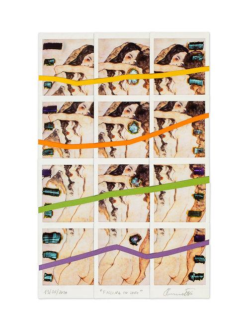 FALLING IN LOVE - Ernesto Notarantonio - FMB Art Gallery