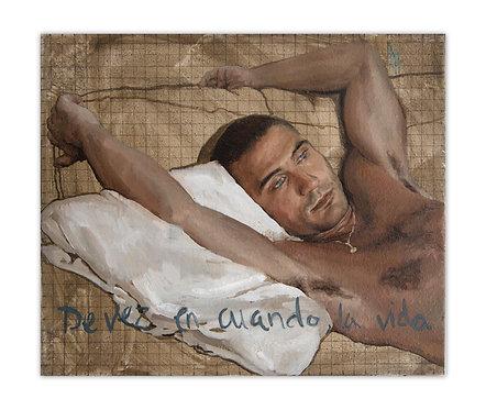 De vez en cuando la vida - Alberto Torres Hernandez - FMB Art Gallery