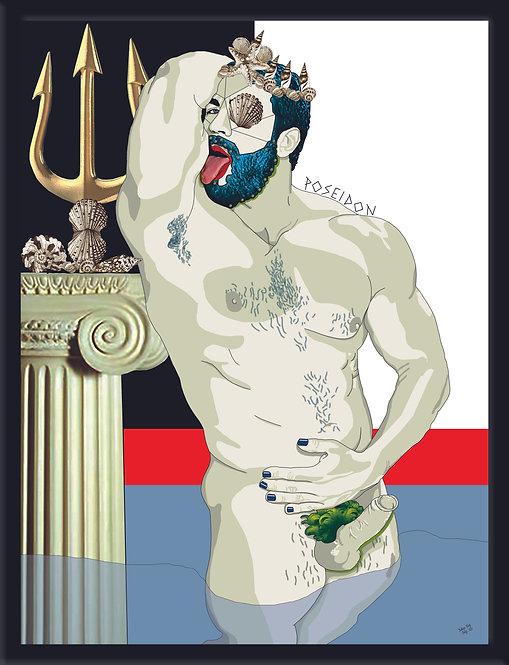 POSEIDON - Massimo Perna - FMB Art Gallery