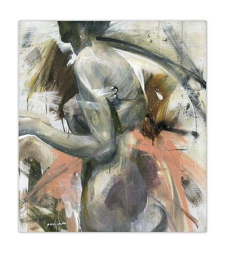Standing Nude - Grigorii Pavlychev - FMB Art Gallery