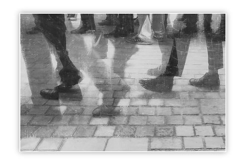 Walking in Paris - Cristiano De Matteis - FMB Art Gallery