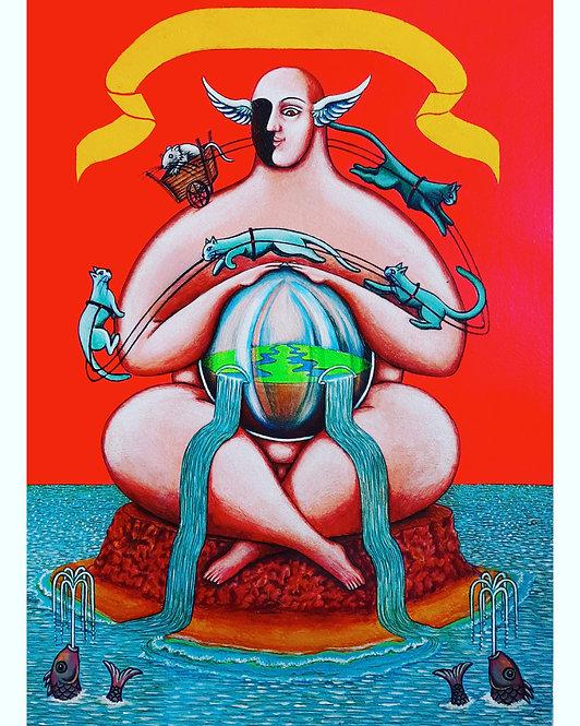 The Charriot - Salvador Manzano Carabante - FMB Art Gallery