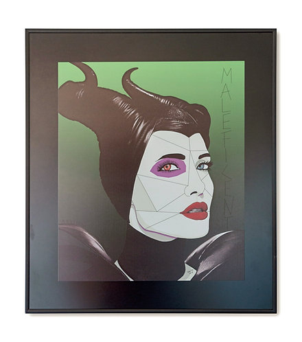 Angelina Maleficent - Massimo Perna - FMB Art Gallery