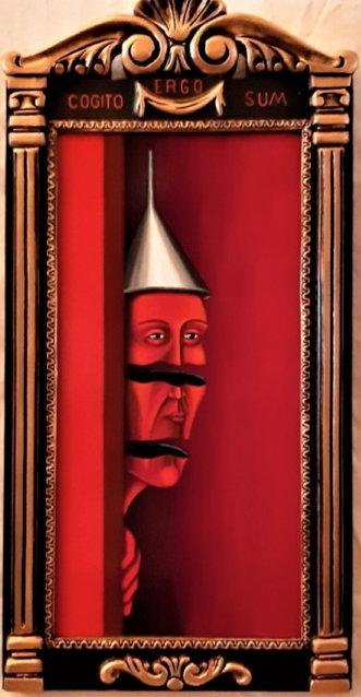 Cogito Ergo Sum - Salvador Manzano Carabante - FMB Art Gallery