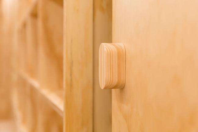 Detalle tirador puerta