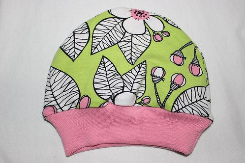 Bonnet fleurs de cerisier