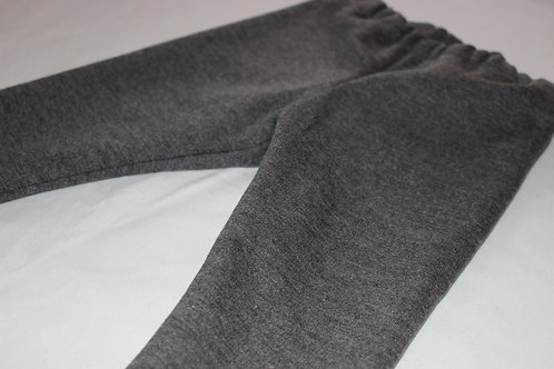 Legging chaud gris