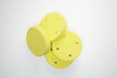Rundschwamm für Vakuum D=6 cm