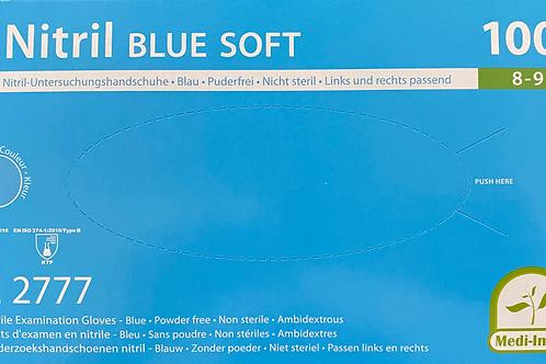 Nitril BLUE SOFT Untersuchungshandschuhe