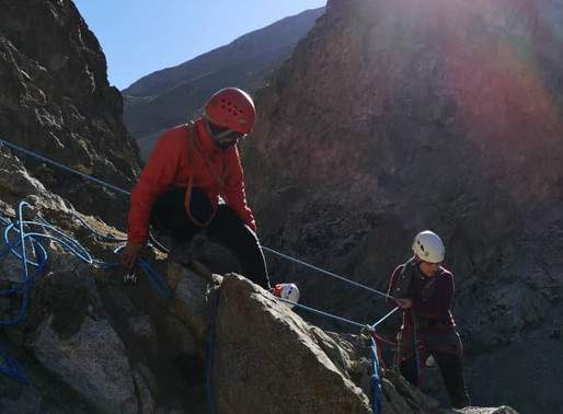 Afghanistan's First Female Climbing Instructors