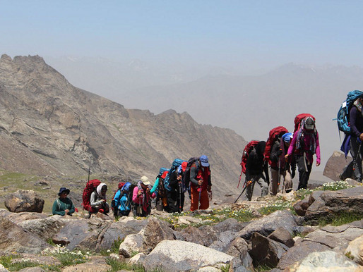 Afghan women break gender barriers with mountain climbing