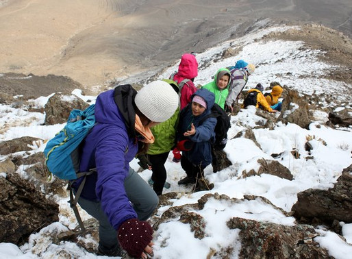 The Women Who Plan To Climb Afghanistan's Top Peak Set Their Sights On An Even Higher Goal