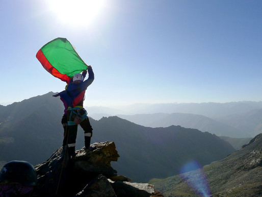 For Young Afghan Women, Scaling Mountain Peaks Brings Highs And Lows