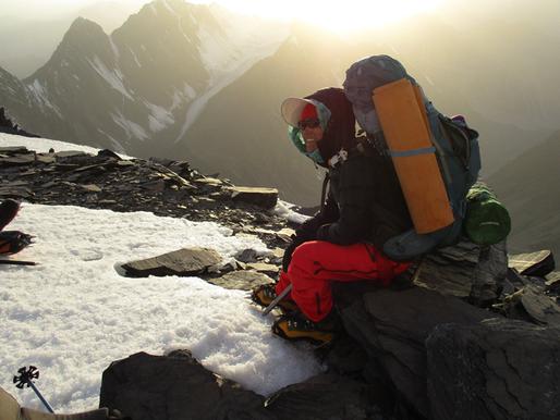 Afghan climber Hanifa Yousoufi braved militant attacks to make history