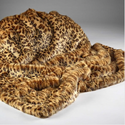 African Leopard Throw