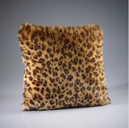 African Leopard Cushion