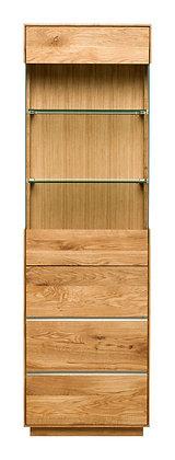 Yukon Solid Oak Single Display Unit