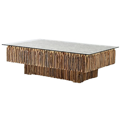 Driftwood Rectangle Coffee Table