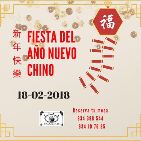 Fiesta del Año Nuevo Chino 2018- Restaurante Macao