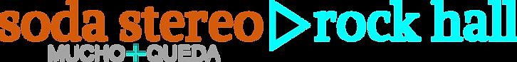 Logotipo Soda Stereo Rock Hall