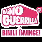 LOGO Radio Guerrilla - Binili Invinge 40
