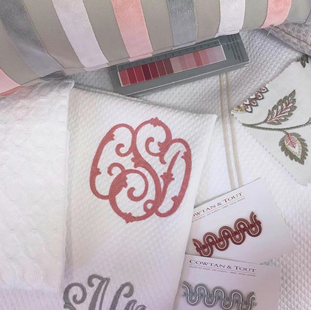 Custom Details: Trims & Monograms