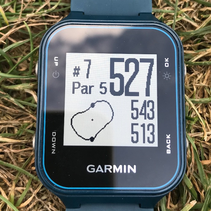 Garmin layout view