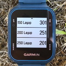 Garmin layup view