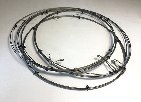 Набор нержавеющей пружинной проволоки от 1,01 мм до 2,01 мм (5 диаметров)