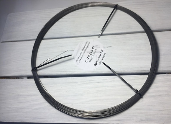 Диаметр 0,7 мм моток 100 метров