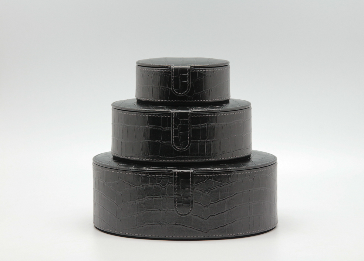 Oval, Three Size Box