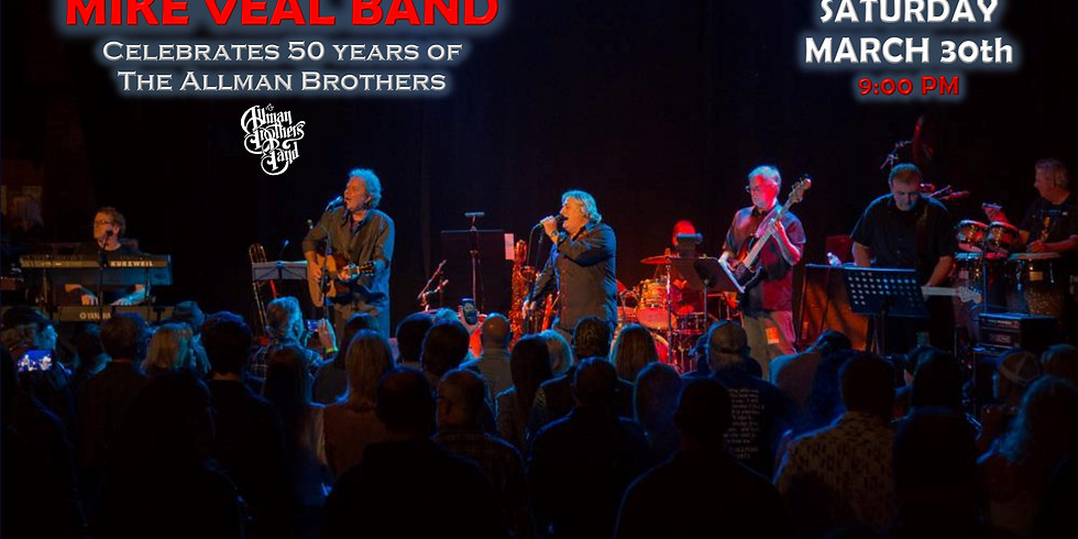 Mike Veal Band - 50 years of Allmans Celebration Show