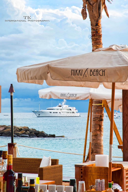Nikki Beach Barbados, yacht